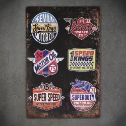 tabliczka motoryzacja logotypy