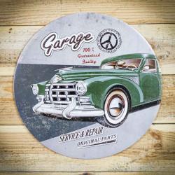 Tabliczka vintage garage
