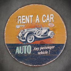 tabliczka ozdobna car old
