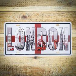 Tabliczka retro naścienna LONDON