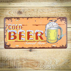 Ziemne piwo tabliczka prosto z USA