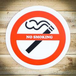 nie palić tabiczka ozdobna