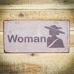 Tabliczka dekoracyjna WOMAN