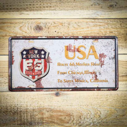 Tabliczka retro naścienna USA ROUTE 66