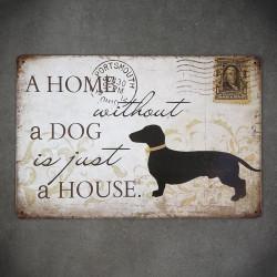 tabliczki dekoracyjne pies