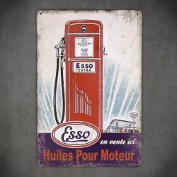 tabliczki informacyjne vintage