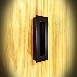 Uchwyt wpuszczany do mebli i drzwi przesuwnych