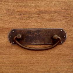 Uchwyt meblowy RUSTYK PROSTY 110 X 43 mm