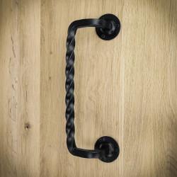 Uchwyt do drzwi przesuwnych czarny LUGO-3