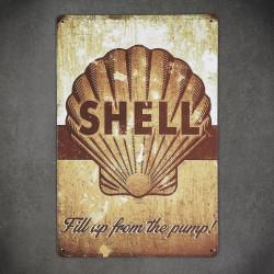 vintage tabliczki z metalu