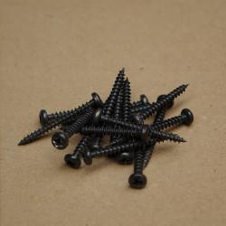 Wkręty 3,5x35 czarny (10szt.)