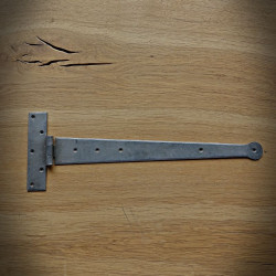 Zawias meblowy KRAWAT 450mm jasnostalowy