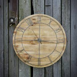 Zegar ścienny drewniany FACTORY