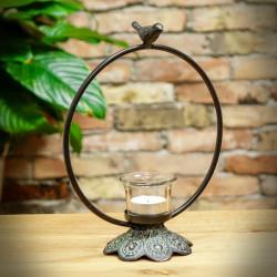 Dekoracyjny świecznik Skowronek