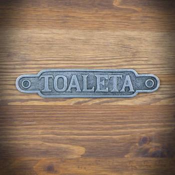 Emblemat TOALETA 2