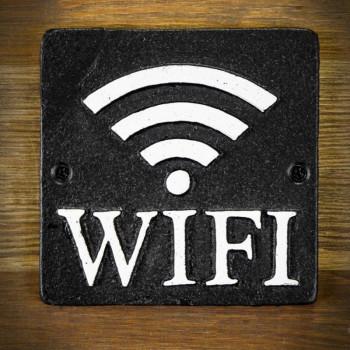 dekoracyjna tablica WIFI