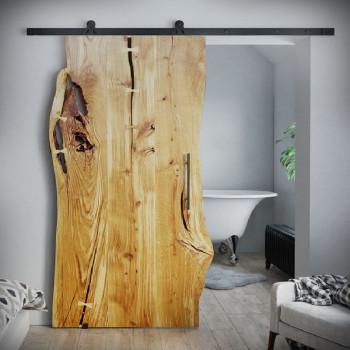 Drzwi przesuwne drewniane dębowe ONE BOARD PREMIUM