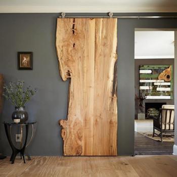 Drzwi przesuwne dębowe  ONE BOARD