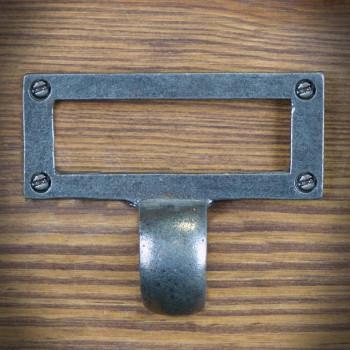 Uchwyt meblowy z rączką i ramką 77mm