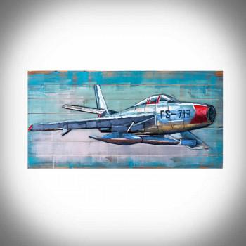 Obraz 3d samolot