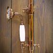retro zestaw prysznicowy