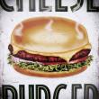 burger tabliczka