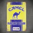 camel tabliczka metalowa