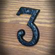 cyfra trzy