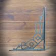 retro stalowy wspornik półek