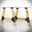 noga do stołu drewniana meblowa