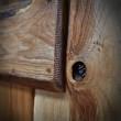Sęki i łączenia w drzwiach przesuwnych