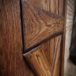 Kolor brąz w drzwiach przesuwnych Barn