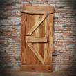 Drzwi z zastrzałami