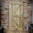 rustykalne drzwi dębowe