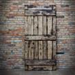 rustykalne drzwi przesuwne