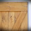 drzwi przesuwne w ramie stalowej