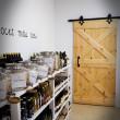 drewniane drzwi do systemu przesuwnego