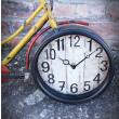 zegar industrialny