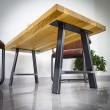 nogi z żelaza do dużego stołu