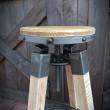 krzesło barowe indystrialne