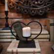 świecznik metaloplastyka