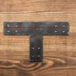 Łącznik do drewna typu T