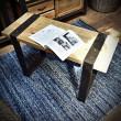 ławka stolik vintage