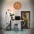 biurko wąskie industrialne