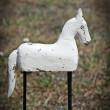 koń drewniany ozdobny