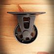 kółka loftowe retro ze stali