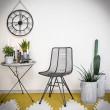 krzesło metalowe stalowe