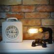 industrialna lampka z rur