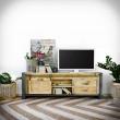 loftowa szafka pod telewizor