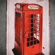 Londyn budki telefoniczne